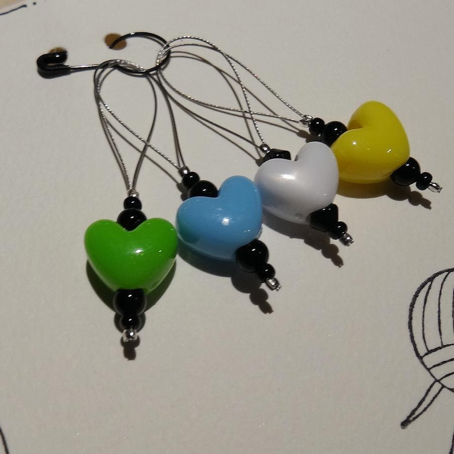 Knitting Markers Etsy : Handmade stitch markers from gardeningwitch on etsy studio