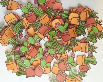 Cactus die cuts