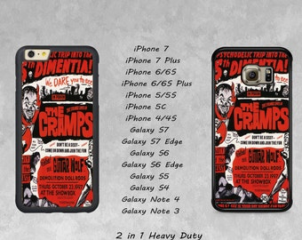 THE CRAMPS iPhone, Galaxy Cellphone Case