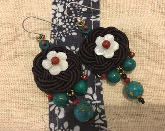 Handmade ethnic earrings