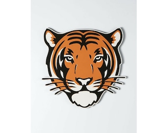 Princeton Tiger Wall Hanging