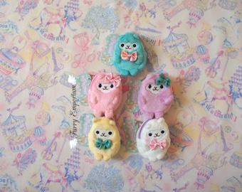 Alpaca coin purse - PINK