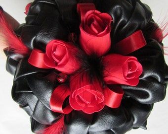 Dark love bouquet