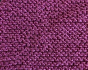 Mauve soft knit shawl