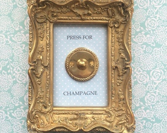 Press for champagne frame