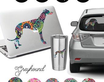 Greyhound Decal