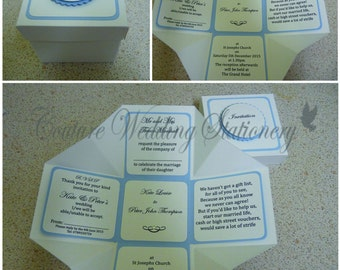 Wedding Invites In A Box (style 1)