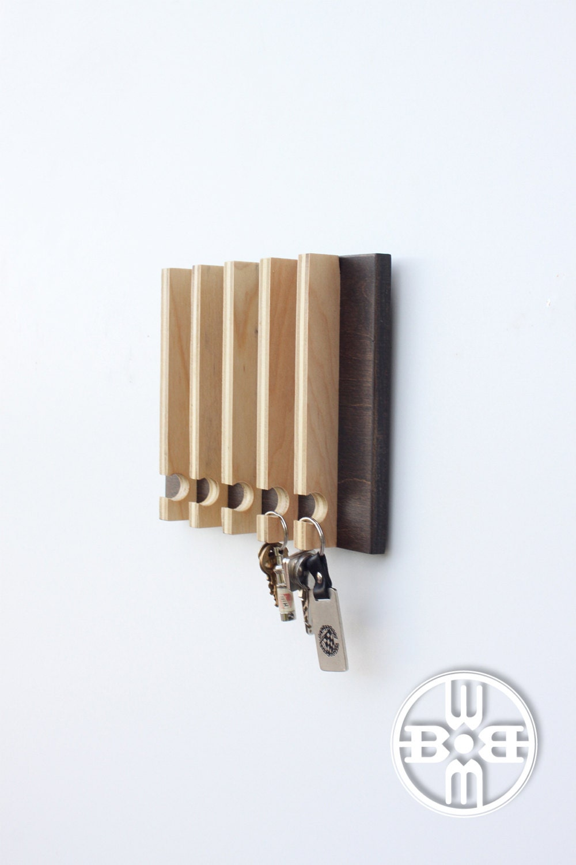 Modern Key Rack Modern Entryway Wall Storage Gift For Men