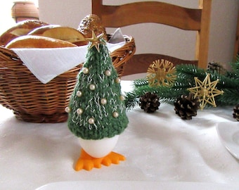 Egg cozy Christmas Tree