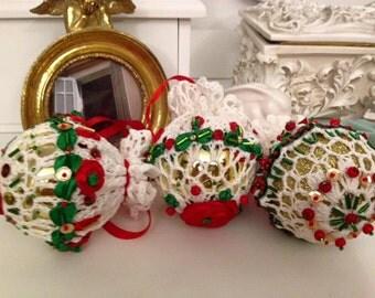 Christmas ball. Christmas decorations. Christmas balls