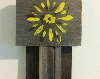 Pallet and Fire Flowers!!