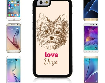 Cover Case for Apple iPhone 7 7 Plus 6 6S Plus Samsung Galaxy S7 Edge S6 Plus Note 5 6 7 8 9 10 att sprint verizon Hand Drawn Yorkshire