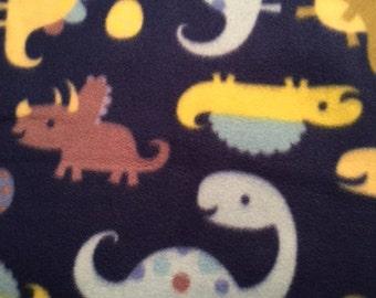 Blue Dinosaur Blanket