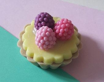 08 Beeren Törtchen Seife/ Berry Tartlet Soap