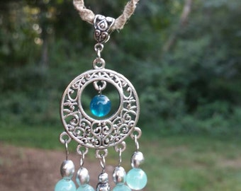 Hemp Beaded Necklace