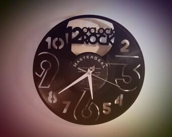 Reclaimed Vinyl Record Clocks