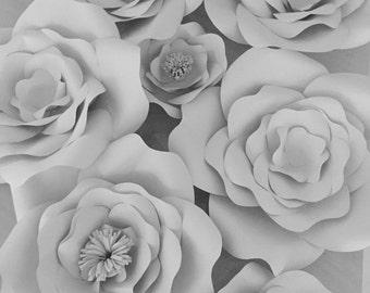 30 #paperflowers