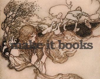 Arthur Rackham - Little Breeze - The Goosegirl - Brothers Grimm Fairy Tales