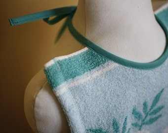 big  bib out of terry cloth - upcycling product