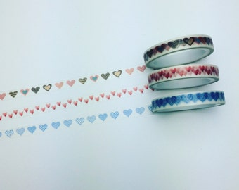 Set of three washi tape