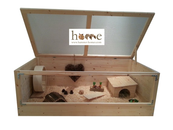 Super Large 120cm Pygmy Hedgehog Cage & Small by HamsterHomesUK