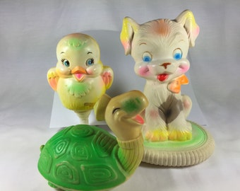 Vintage Baby Toy Set