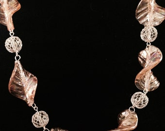 Coral Waves Necklace