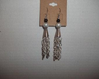Mama BoBejou Dangle Chain Earrings