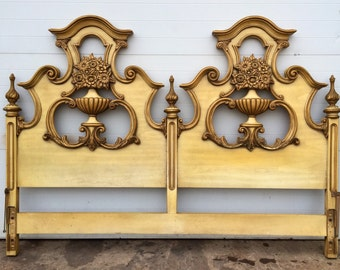 Hollywood Regency style King Size Headboard