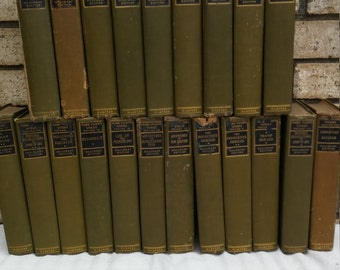 21 volumes of  Mark Twains works the 1905 hillcrest edition