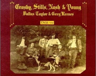 "2"" x 3"" Magnet Crosby, Stills, Nash and Young Album Cover CollectibleMAGNET"