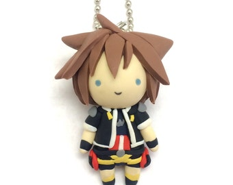 Kawaii Key Sword Chibi Clay Charm
