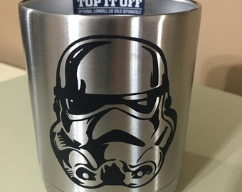 Storm trooper yeti decal