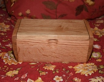 Handmade Wooden Keepsake Box from Reclaimed/Recycled Lumber