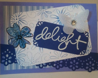 Delight greeting card