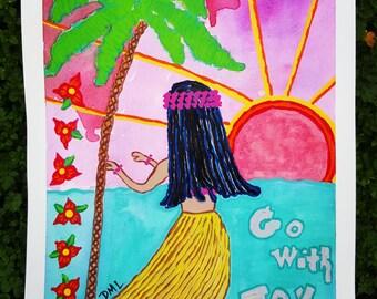 Go With Joy Original Painting