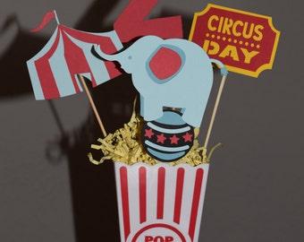 Circus Cutouts set of 4