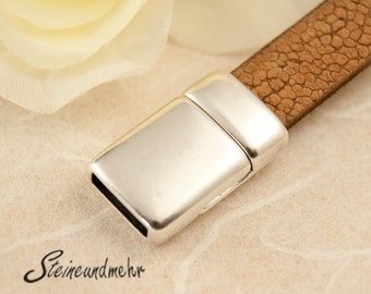 Magnetic silver plated 10 mm bands type. 1297