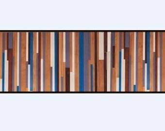 Reclaimed Modern Wood Wall Art, Wood Stripes , Abstract Wood Art, Modern Wood Painting, Mid Century wall art, reclaimed wood art sculpture