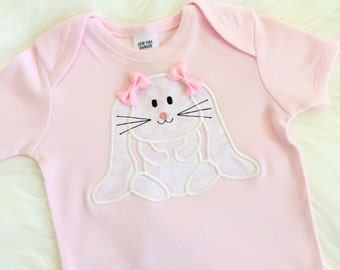 Floppy bunny easter top ONLY! Easter top , 1st easter , easter 2016