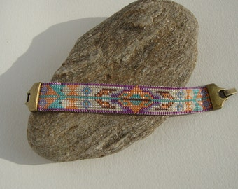 Bohemia, navajo, Native American Indian style Cuff Bracelet
