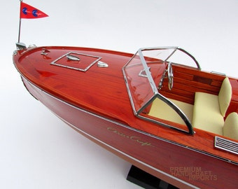 Chris Craft Sportsman Utility 1950 Display Model Boat, Replica Thayer IV in the film Golden Pond
