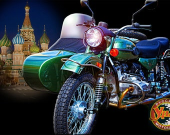 Ural motorcycle, Motorcycle Wall Art, Motorcycle Art Print, Motorcycle Art, Motorcycle Photography, Gifts for Him, Home Décor