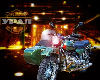 Ural Motorcycle in the Barn, Metal Prints, Motorcycle Prints, Motorcycle Art, Wall Art, Photography, Prints, Gifts for Him, Home Décor