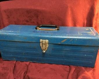 Tool Box, Vintage, Metal