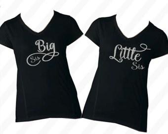Matching sister shirts - Adult sister shirts - sister birthday gift - SET OF TWO - sister shirts