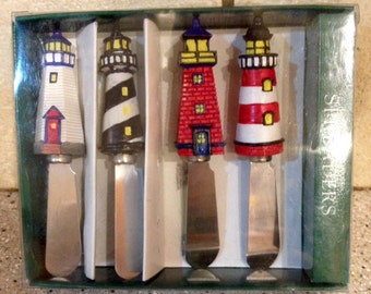 Lighthouse Cheese Spreaders