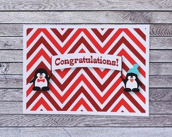 Penguin Congratulations Card