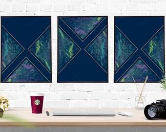 Navy Wall Decor navy wall decor | etsy