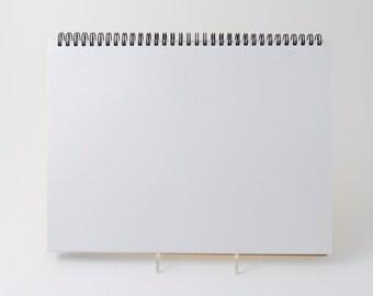 """Mnemosyne #181 blank spiral notebook (8.3"""" x 11.7"""")"""